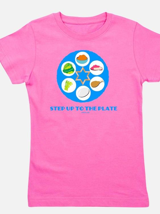Step UpTO Plate 4 flat Girl's Tee