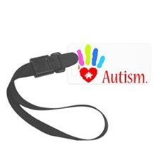stop autism 3 Luggage Tag