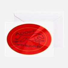 flare hound Greeting Card