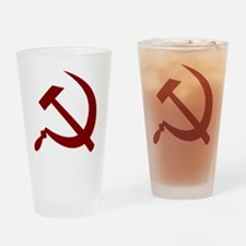 communistback Drinking Glass