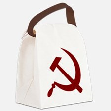communistback Canvas Lunch Bag