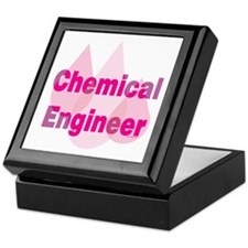 Pink Chemical Engineer Keepsake Box