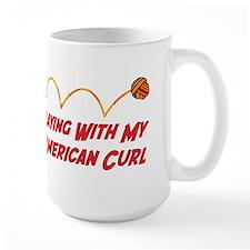 Playing Curl Mug