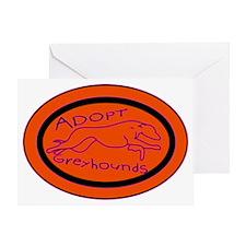 orange sticker text 2.gif Greeting Card