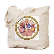 CLOCK Jack Be Nimble Gold Star Tote Bag