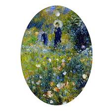 K/N Renoir Parasol Oval Ornament
