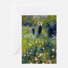 K/N Renoir Parasol Greeting Card