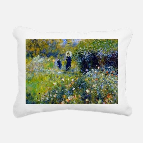Laptop Renoir Parasol Rectangular Canvas Pillow