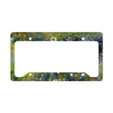Laptop Renoir Parasol License Plate Holder