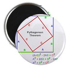 Pyth_Thm_WhiteShirt Magnet