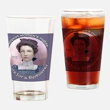 VoteDemocratic Drinking Glass