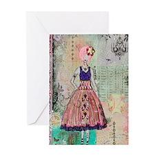 5x8_journal Greeting Card