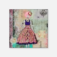"Effie Trinket Notecards Square Sticker 3"" x 3"""