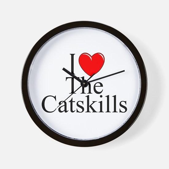 """I Love The Catskills"" Wall Clock"