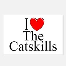 """""""I Love The Catskills"""" Postcards (Package of 8)"""