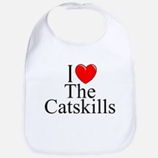 """I Love The Catskills"" Bib"