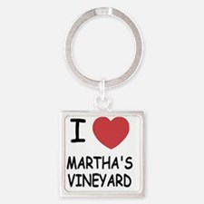 MARTHAS_VINEYARD Square Keychain