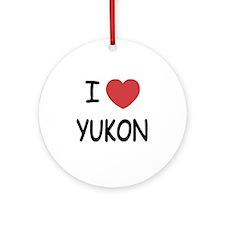 YUKON Round Ornament