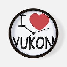YUKON Wall Clock