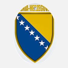 Bosnia-Herzegovina COA Oval Ornament