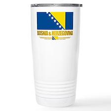 BosniaHerzegovina (Flag 10)2 Travel Mug