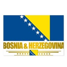 BosniaHerzegovina (Flag 1 Postcards (Package of 8)