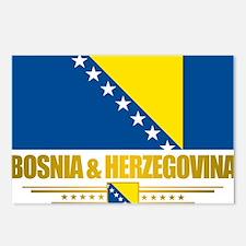 BosniaHerzegovina (Flag 1 Postcards (Package of 8)