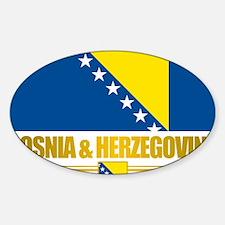 BosniaHerzegovina (Flag 10)2 Decal