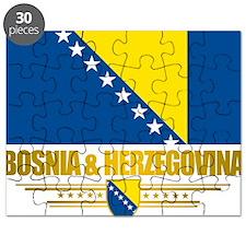 BosniaHerzegovina (Flag 10)2 Puzzle