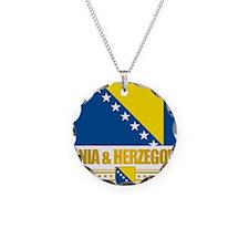 BosniaHerzegovina (Flag 10)2 Necklace
