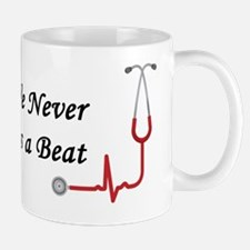 We Neve Miss A Beat - Black Mug