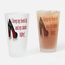 High Standards Drinking Glass