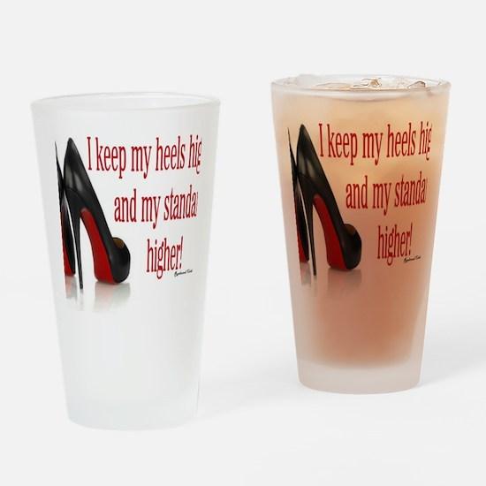 High Standards Drinking Glass