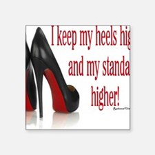"High Standards Square Sticker 3"" x 3"""