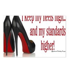High Standards Postcards (Package of 8)