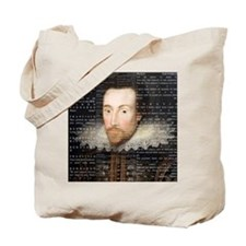 shakespeare hamlet shower curtain Tote Bag