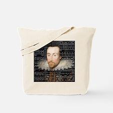 shakespeare hamlet shower curtain Tote Bag