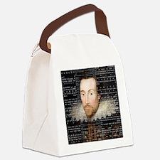 shakespeare hamlet shower curtain Canvas Lunch Bag