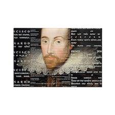 shakespeare banner Rectangle Magnet