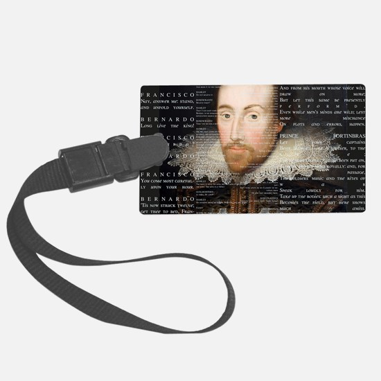 shakespeare banner Luggage Tag