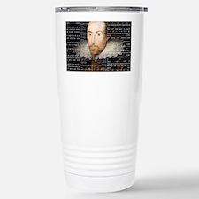 shakespeare banner Travel Mug