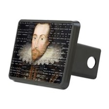 shakespeare banner Hitch Cover