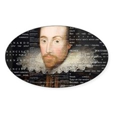 shakespeare banner Decal