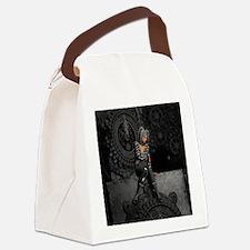 ttro_king_duvet Canvas Lunch Bag