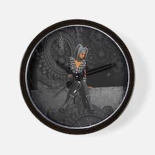 ttro_king_duvet Wall Clock