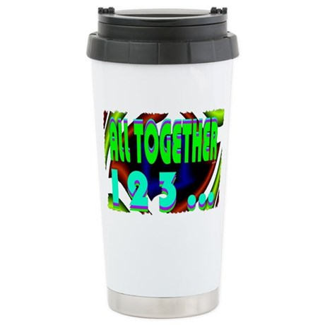 all together 123 Stainless Steel Travel Mug