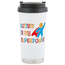 Autism is my Superpower Travel Mug