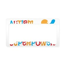 aut hero License Plate Holder