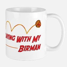 Playing Birman Mug