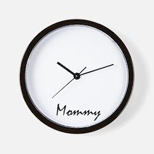 chinese-sharpei  mom property white Wall Clock